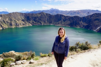 Ecuador: Kratermeer Quilotoa