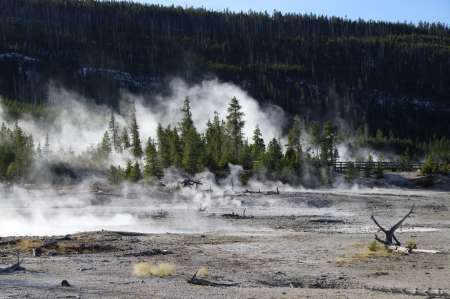 Yellowstone National Park Amerika