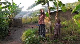 Het lokale leven in Oeganda