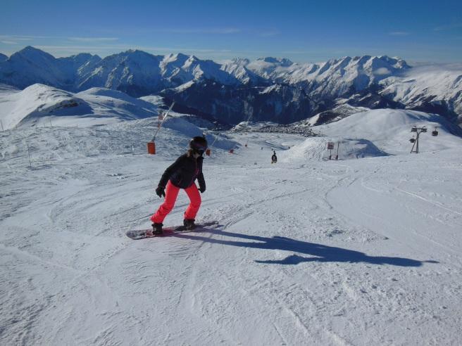 In het skigebied Alpe d'Huez kun je heerlijk wintersporten