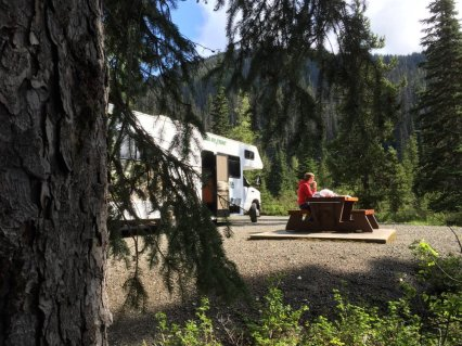 Met de camper in West-Canada