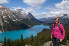 Peyto Lake, West-Canada