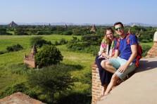 Tempels in Bagan