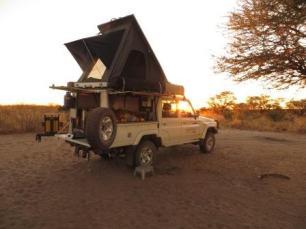 kalahari botswana