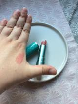 I Heart Revolution Mystical Mermaids Lipstick - Beach Babe | Swatch on hand