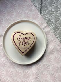 I Heart Make-Up Blushing Hearts Summer of Love Triple Baked Bronzer