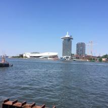 A'dam toren Amsterdam vanuit Amsterdam Centraal