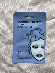 Goodbye to dry sheet mask van Hema