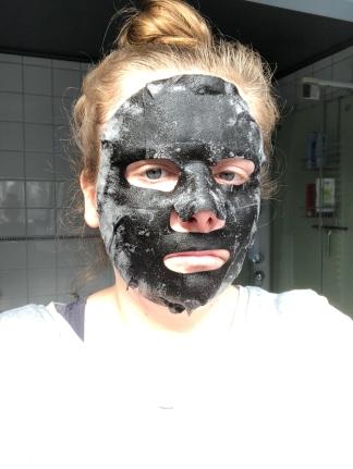 #nofilter bubble sheet mask van Hema