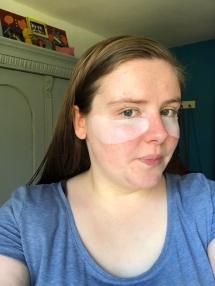 Skin Active Hydra Bomb Anti-wallen Oog Tissue masker van Garnier