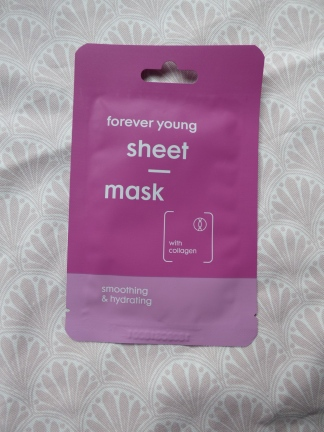 Forever young sheet mask van Hema