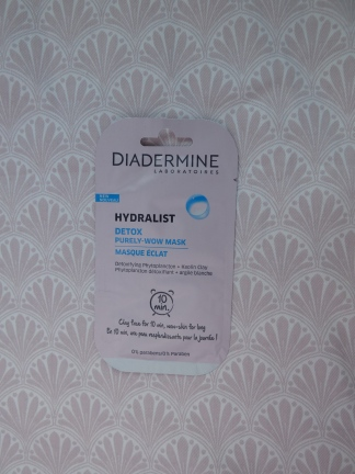 Hydralist Detox masker van Diadermine | Review