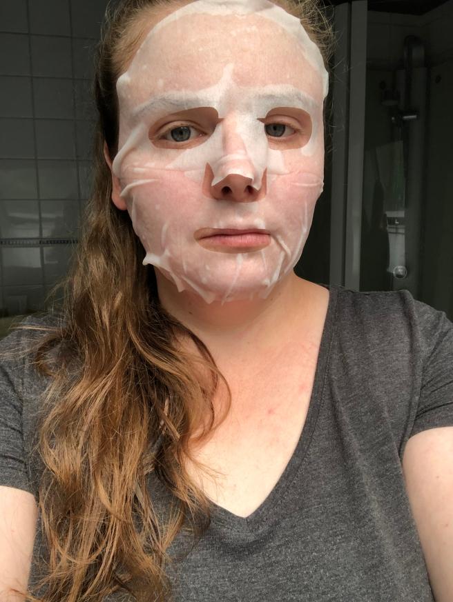 Foto 8-07-19 13 30 28Anti-Imperfection Sheet mask van Hema | Review