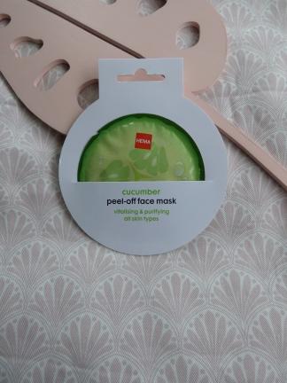 Cumcumber Peel-Off Face Mask van Hema