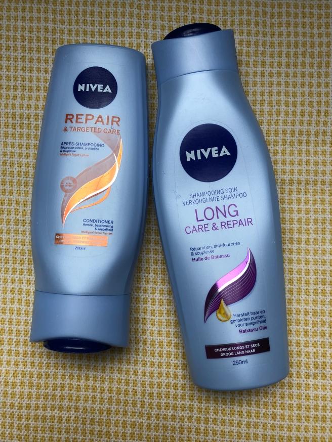 Long Care & Repair Shampoo enRepair & Targeted Care Conditionervan Nivea
