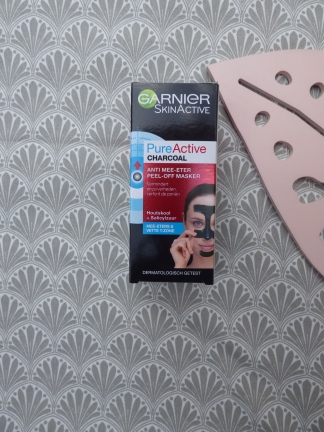 PureActive Charcoal Anti-Mee-Eter Peel-Off Masker van Garnier