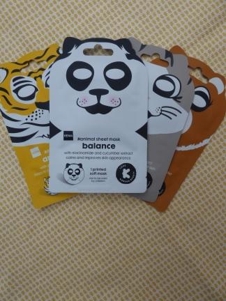 Balance Panda Sheet Mask van Hema