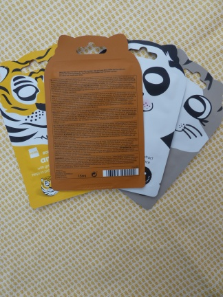 Hydra Calm Bear Sheet Mask van Hema