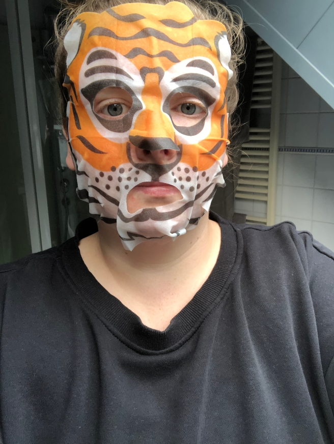 Anti-Oxidant Tiger Mask van Hema