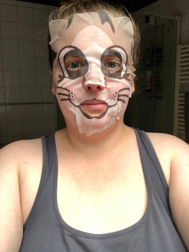 Moisture Cat Sheet Mask van Hema