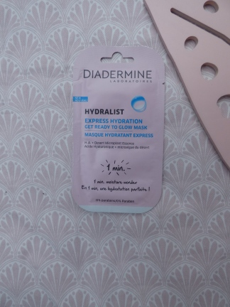 Hydralist Express Hydration Get Ready To Glow Mask van Diadermine