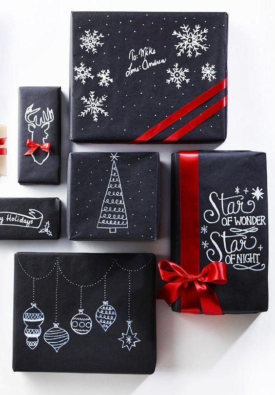 Hoe verpak je origineel je kerstcadeau's?