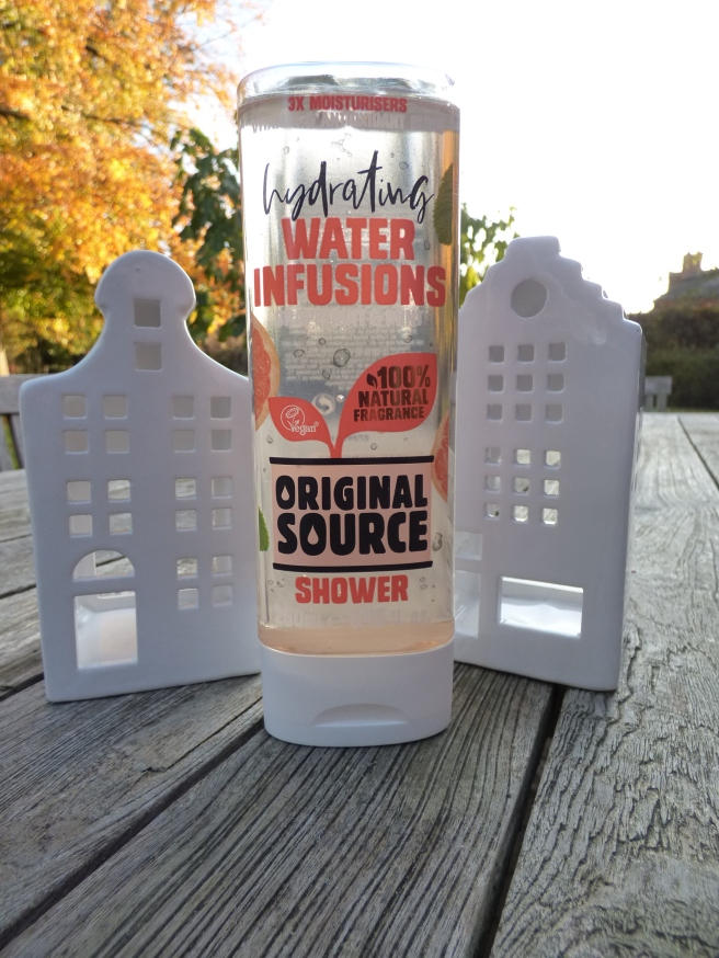Hydrating Water Infusions Shower Gel van Original Source