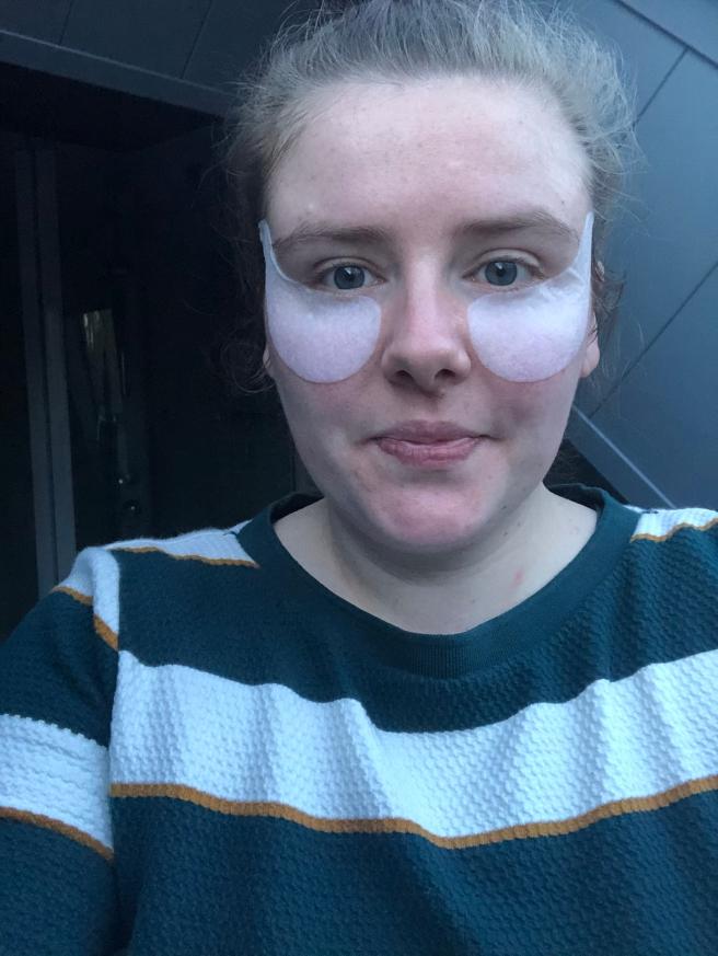 SkinActive Hydra Bomb Gladmakend Oog Tissue masker