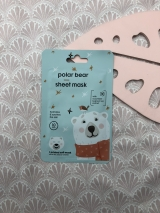 Polar Bear Sheet Mask van Hema
