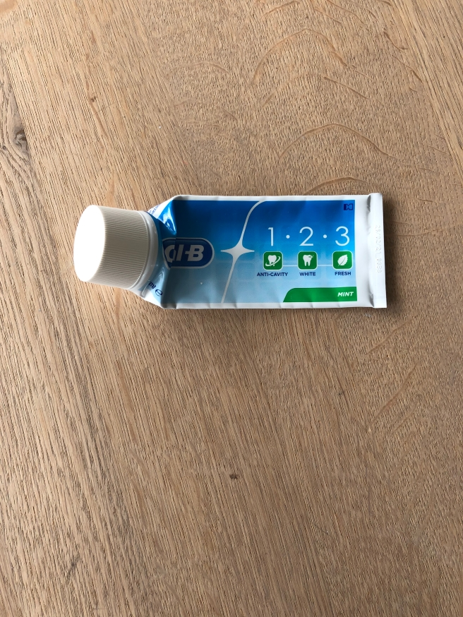 123 Tandpasta van Oral B