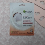 SkinActive Nutri Bomb Intense voeding + Glow Tissue Masker met Kokos van Garnier