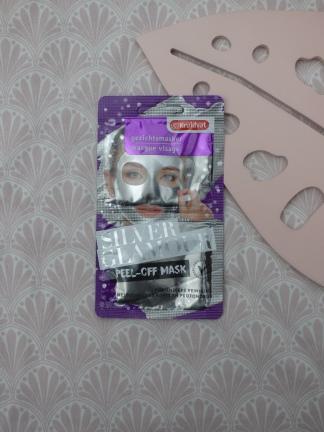 Silver Glamour Peel-Off Mask van Kruidvat