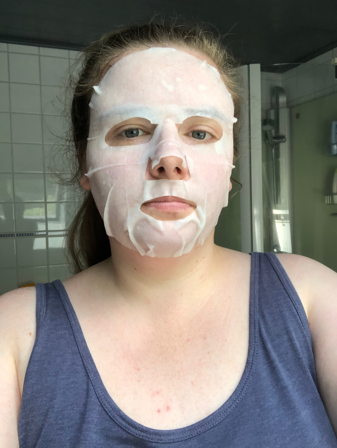 Brightening & Anti-Acne Face Sheet Mask met Pearl Extract van Action