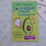 Softening & Hydrating Face Sheet Mask met Avocado Extract van Action