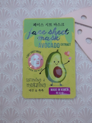 Softening & Hydrating Face Sheet Mask met Avocado Extract van Action