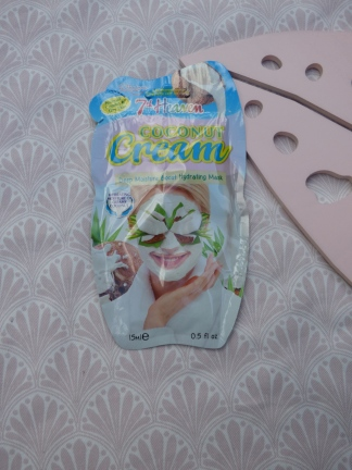 Coconut Cream Mask van 7th Heaven