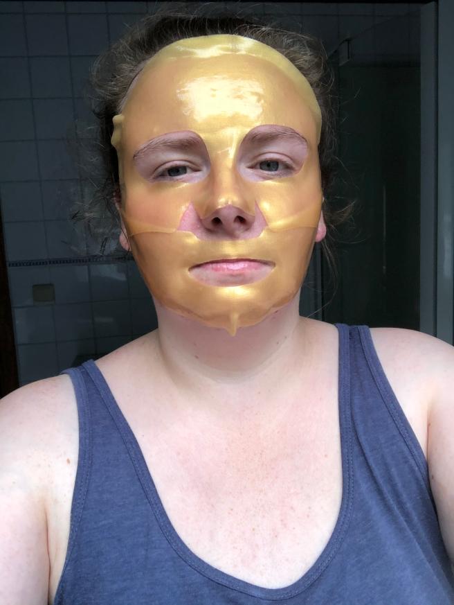 Hydrogel Gold Mask van Action