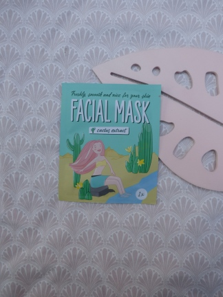 Facial Mask met Cactus Extract van Action