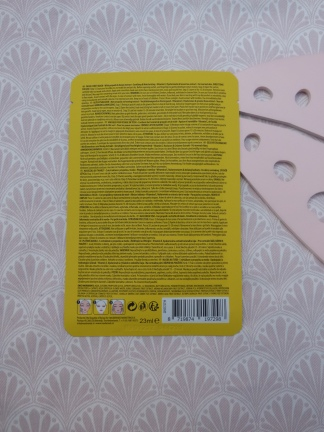 Soothing & Moisturizing Face Sheet Mask met Honey extract van Action