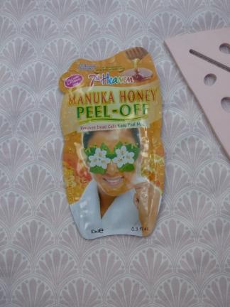 Manuka Honey Peel Off Mask van 7th Heaven