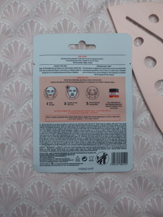 Vitamin C Glow Sheet Mask van The Body Shop